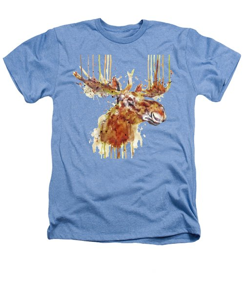 Moose Head Heathers T-Shirt by Marian Voicu