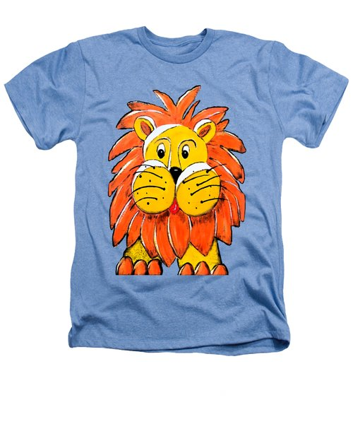Mr. Lion Heathers T-Shirt by Tami Dalton