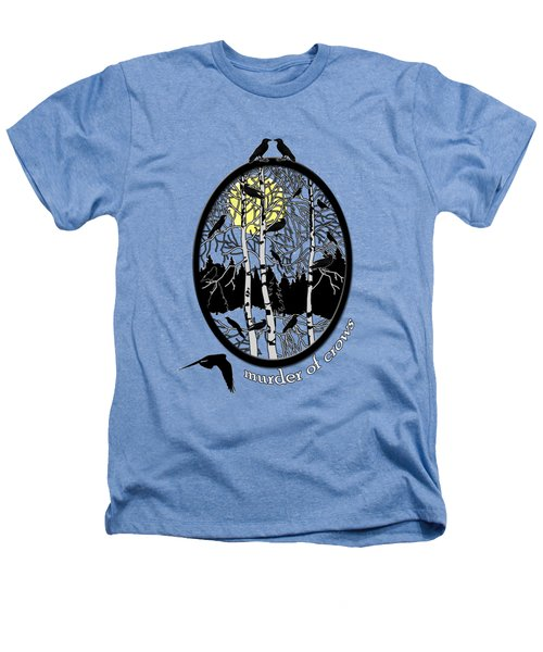 Murder Of Crows Heathers T-Shirt by Methune Hively