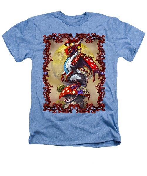 Mushroom Dragon T-shirts Heathers T-Shirt by Stanley Morrison