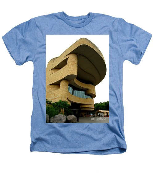 National Museum Of The American Indian 1 Heathers T-Shirt by Randall Weidner