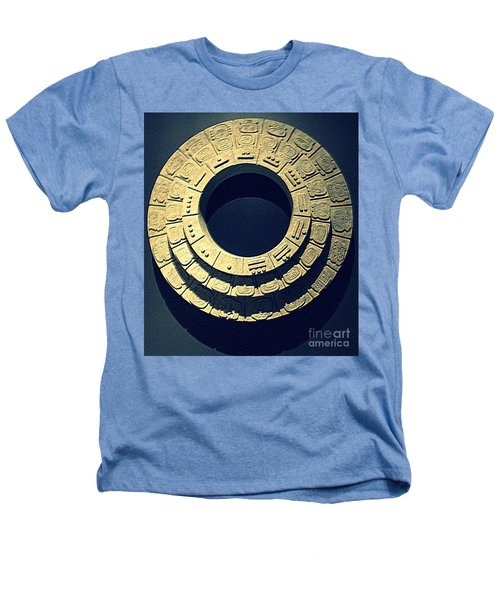 National Museum Of The American Indian 10 Heathers T-Shirt by Randall Weidner