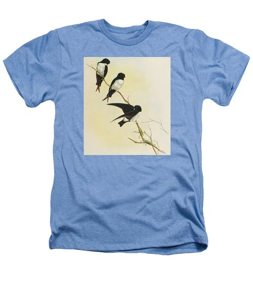 Nepal House Martin Heathers T-Shirt by John Gould