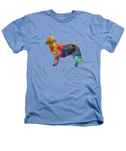 Nova Scotia Duck Tolling Retriever In Watercolor Heathers T-Shirt by Pablo Romero
