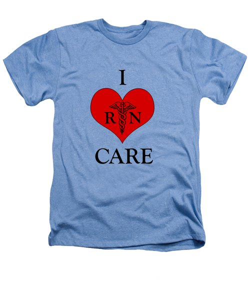 Nursing I Care -  Red Heathers T-Shirt by Mark Kiver