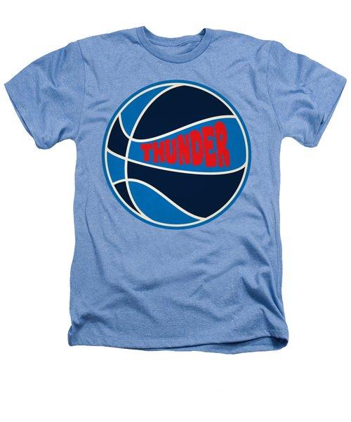 Oklahoma City Thunder Retro Shirt Heathers T-Shirt by Joe Hamilton