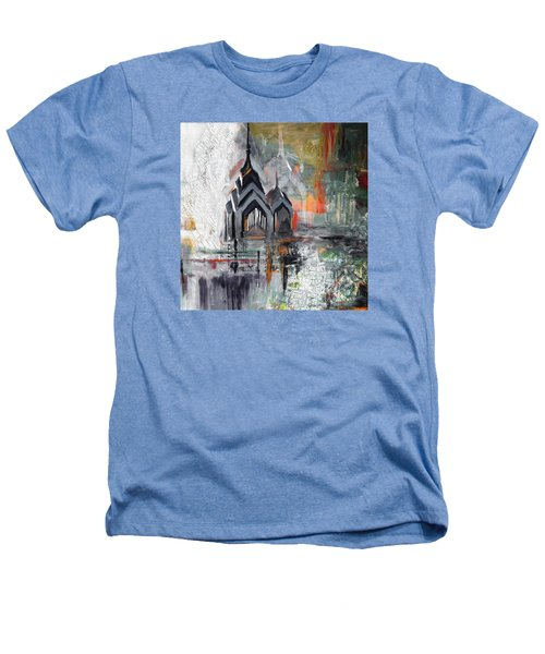 One Liberty Place And Two Liberty Place 229 3 Heathers T-Shirt by Mawra Tahreem