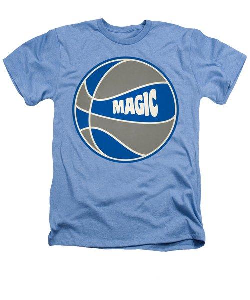 Orlando Magic Retro Shirt Heathers T-Shirt by Joe Hamilton