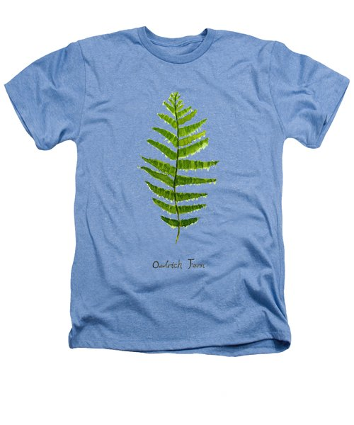 Ostrich Fern Heathers T-Shirt by Color Color