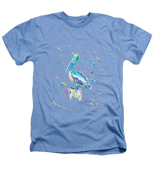 Pelican By Jan Marvin Heathers T-Shirt by Jan Marvin