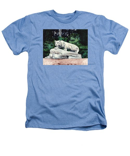 Penn State Nittany Lion Shrine University Happy Valley Joe Paterno Heathers T-Shirt by Laura Row