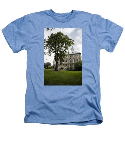 Penn State Old Main From Side  Heathers T-Shirt by John McGraw