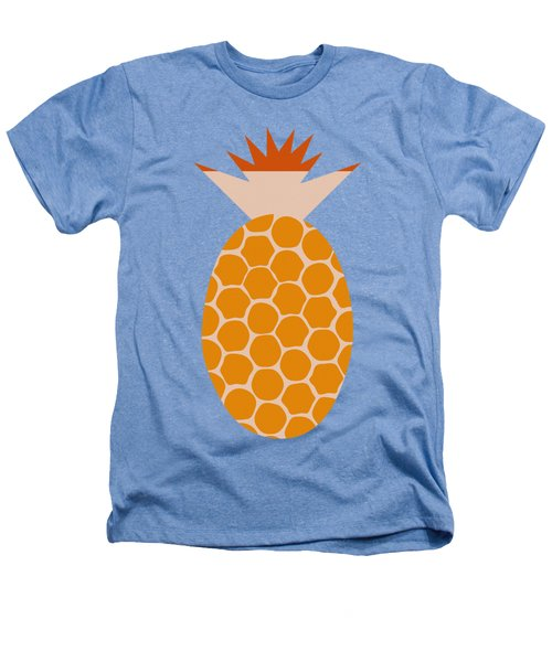 Pineapple Heathers T-Shirt by Frank Tschakert