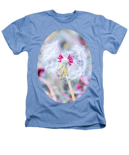 Pink Dandelion Heathers T-Shirt by Parker Cunningham