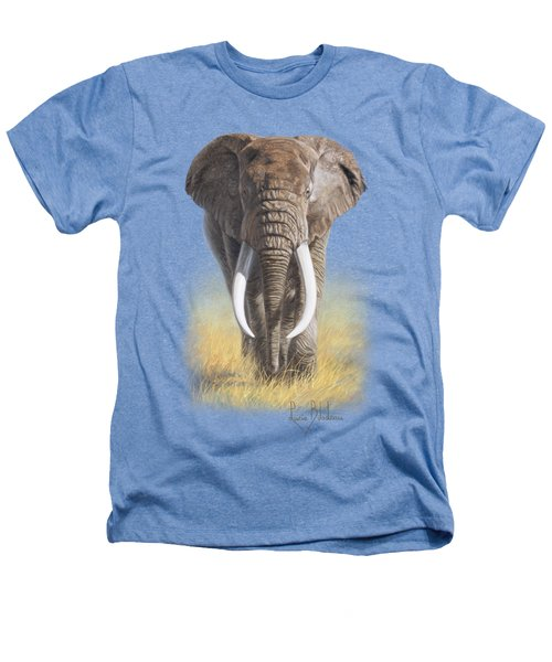 Power Of Nature Heathers T-Shirt by Lucie Bilodeau