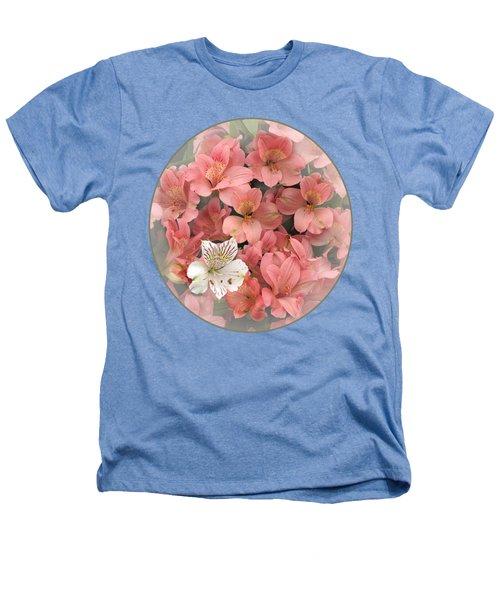 Prima Donna - Alstroemeria Heathers T-Shirt by Gill Billington