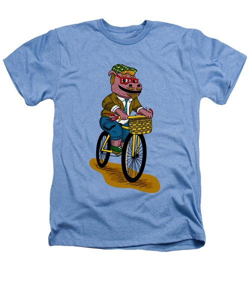 Pun Intended - Hipsterpotamus - Hipsters- Funny Design Heathers T-Shirt by Paul Telling