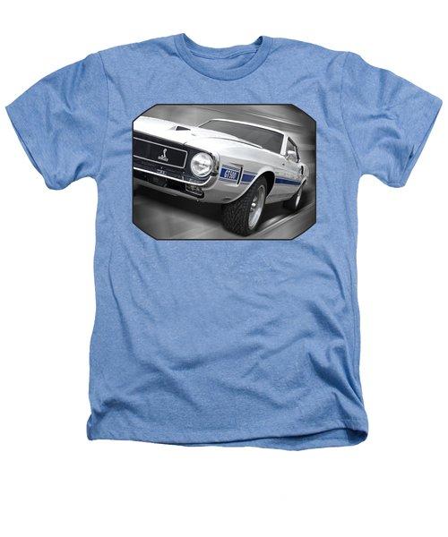 Rain Won't Spoil My Fun - 1969 Shelby Gt500 Mustang Heathers T-Shirt by Gill Billington