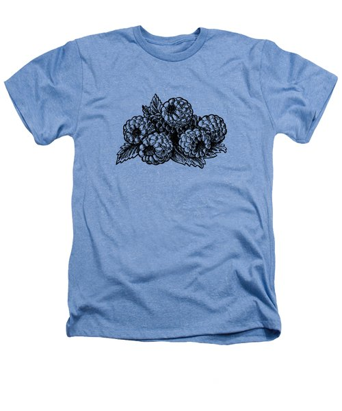 Raspberries Image Heathers T-Shirt by Irina Sztukowski