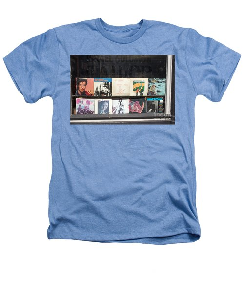 Record Store Burlington Vermont Heathers T-Shirt by Edward Fielding
