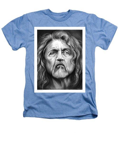 Robert Plant Heathers T-Shirt by Greg Joens