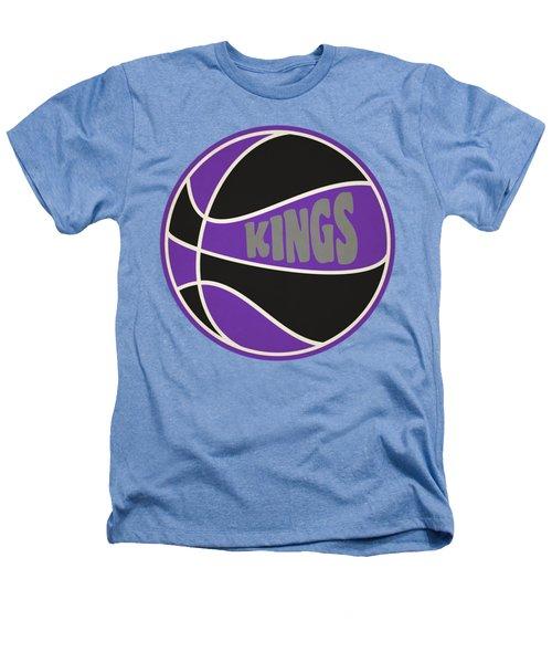Sacramento Kings Retro Shirt Heathers T-Shirt by Joe Hamilton