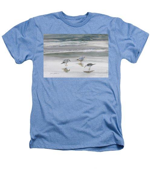 Sandpipers Heathers T-Shirt by Julianne Felton