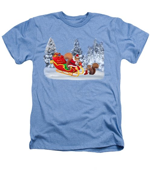 Santa's Little Helper Heathers T-Shirt by Glenn Holbrook