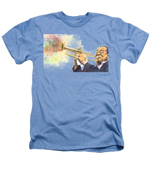 Satchmo Heathers T-Shirt by Adrienne Norris