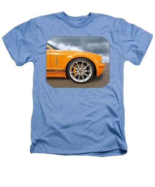 Shelby Gt500 Wheel Heathers T-Shirt by Gill Billington