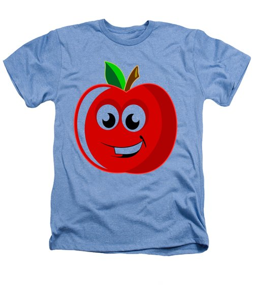Smiley Tomato With Changeable Background  Heathers T-Shirt by Sebastien Coell