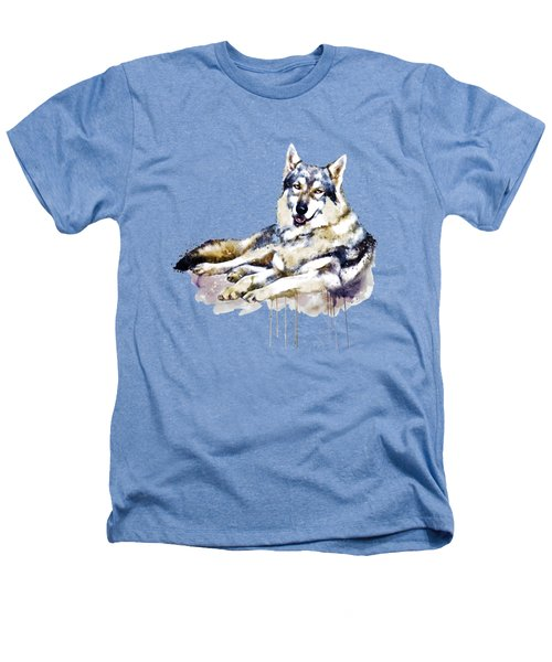 Smiling Wolf Heathers T-Shirt by Marian Voicu
