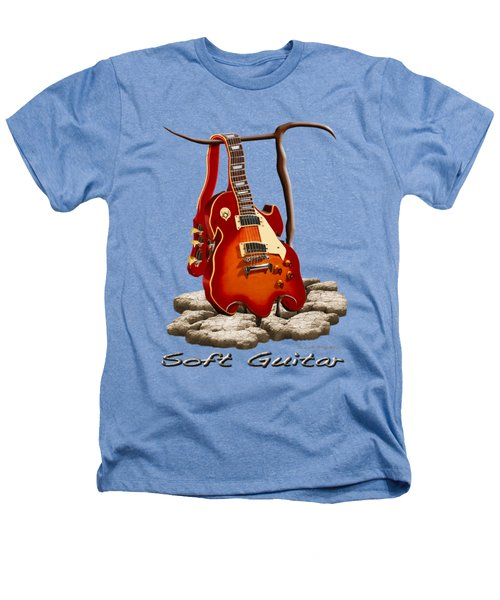 Soft Guitar - 3 Heathers T-Shirt by Mike McGlothlen