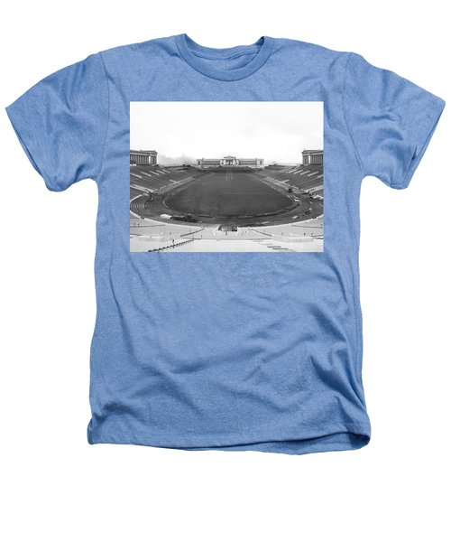 Soldier Field In Chicago Heathers T-Shirt by Underwood Archives