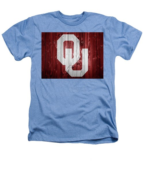 Sooners Barn Door Heathers T-Shirt by Dan Sproul