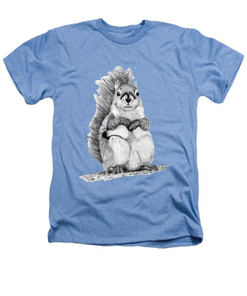 Squirrel Heathers T-Shirt by John Stuart Webbstock