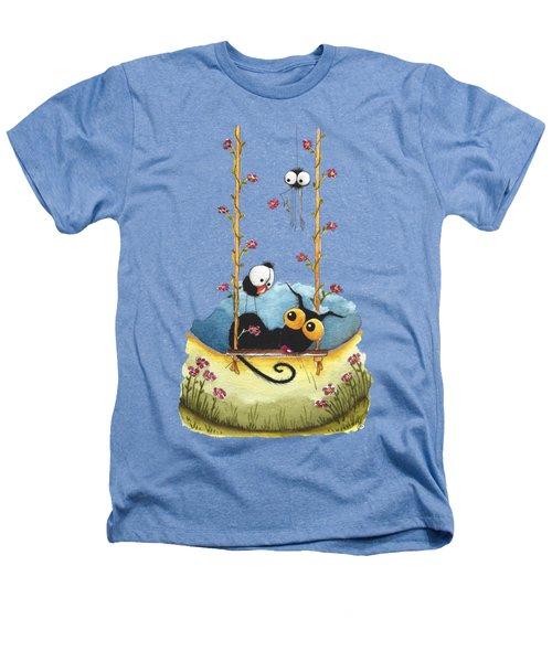 Summer Swing Heathers T-Shirt by Lucia Stewart