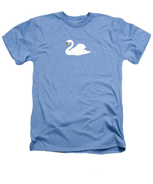 Swan Spring Heathers T-Shirt by Priscilla Wolfe