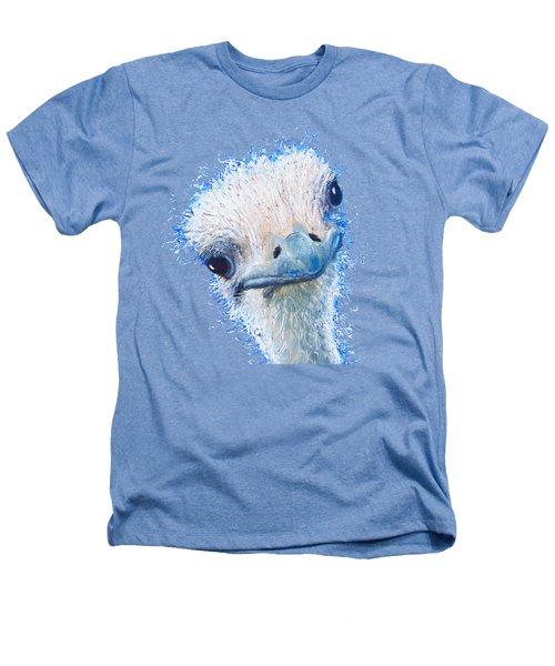 T-shirt With Emu Design Heathers T-Shirt by Jan Matson