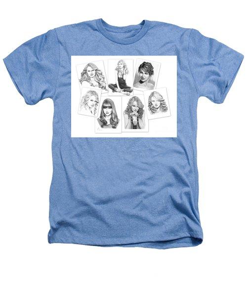 Taylor Swift Collage Heathers T-Shirt by Murphy Elliott