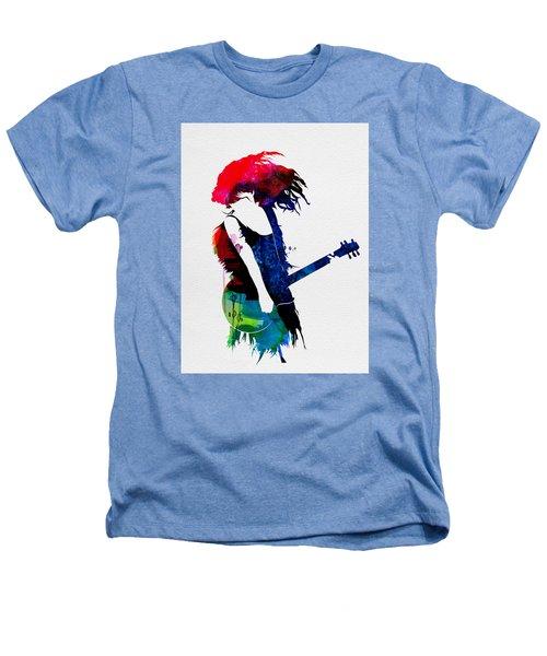 Taylor Watercolor Heathers T-Shirt by Naxart Studio