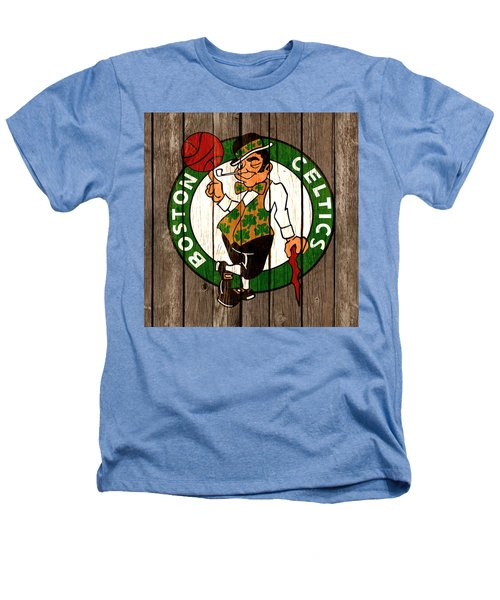 The Boston Celtics 2b Heathers T-Shirt by Brian Reaves