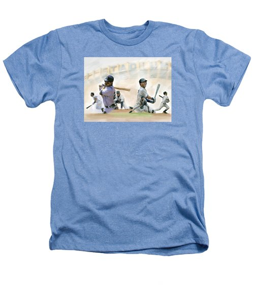 The Captains II Don Mattingly And Derek Jeter Heathers T-Shirt by Iconic Images Art Gallery David Pucciarelli