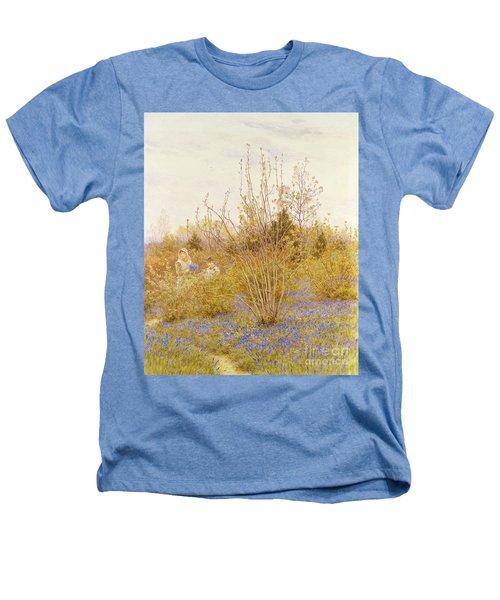 The Cuckoo Heathers T-Shirt by Helen Allingham