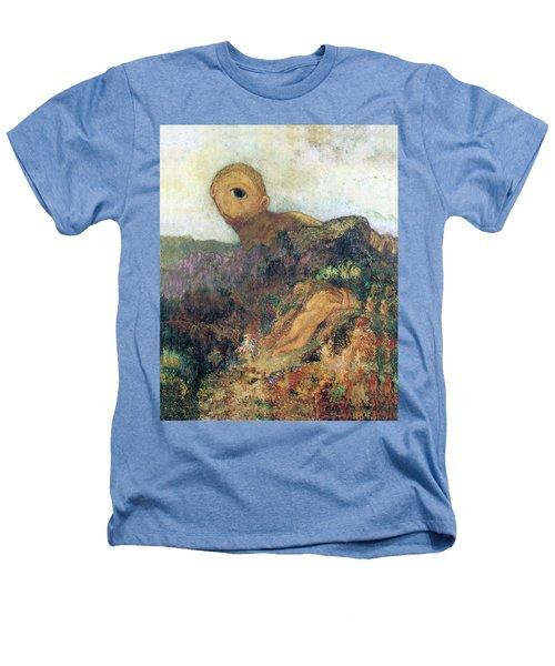 The Cyclops Heathers T-Shirt by Odilon Redon