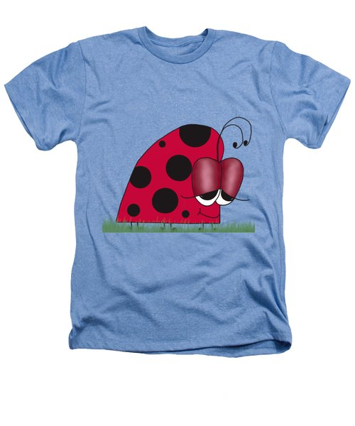 The Euphoric Ladybug Heathers T-Shirt by Michelle Brenmark