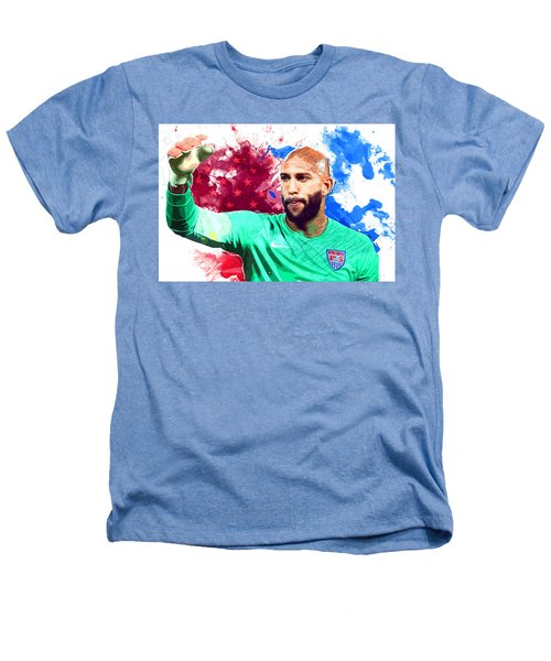 Tim Howard Heathers T-Shirt by Semih Yurdabak