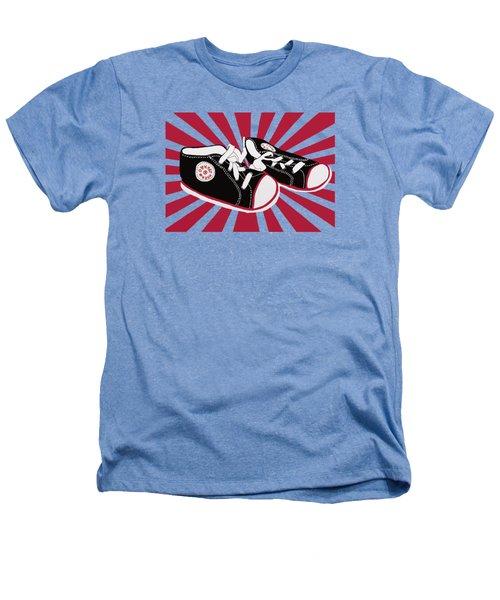 Tiny Feet Heathers T-Shirt by Priscilla Wolfe