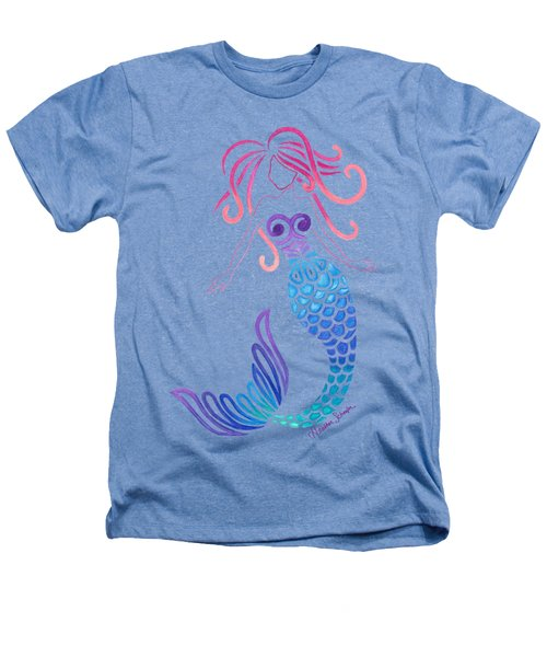 Tribal Mermaid Heathers T-Shirt by Heather Schaefer