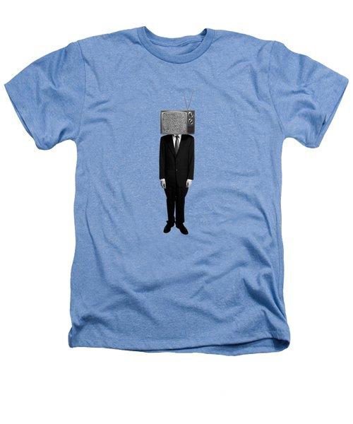 Tv Head Heathers T-Shirt by Diane Diederich